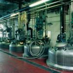 Anlage Chemieindustrie Edelstahl