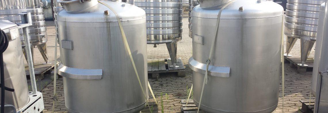 Rührwerksbehälter mit Magnetrührwerk