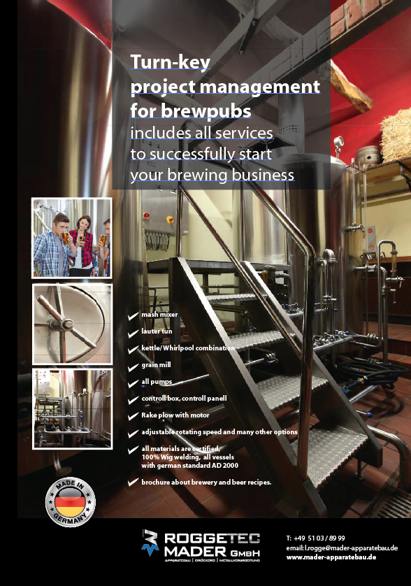 Projekt Management for brewpubs
