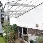 Überdachung aus Edelstahl von RoggeTec Mader GmbH Wennigsen, Hannover